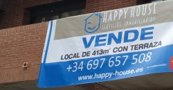 Gran local comercial en el centro mismo de Castelldefels – Ref. CS001221EA